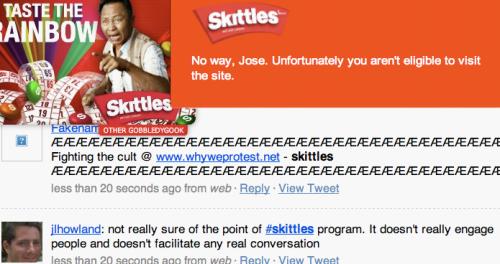 Skittles dump - paulwaper